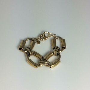 JCrew large link bracelet